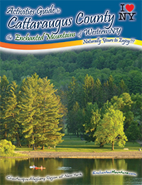 Cover of the 2015 Activities Guide to Cattaraugus County, the Enchanted Mountains of Western NY