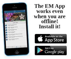 The EM App works even when you are offline! Install it!