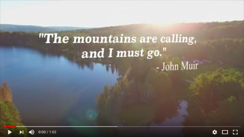 Video on Allegany Mountain Resort