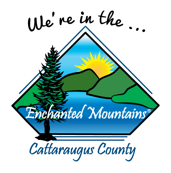"Site Badge ""We are in the ... Enchanted Mountains"""
