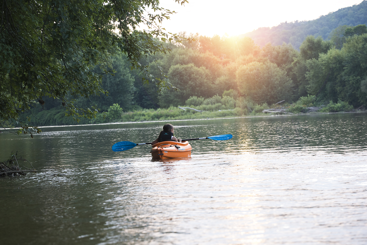 Kayaking the Allegheny River