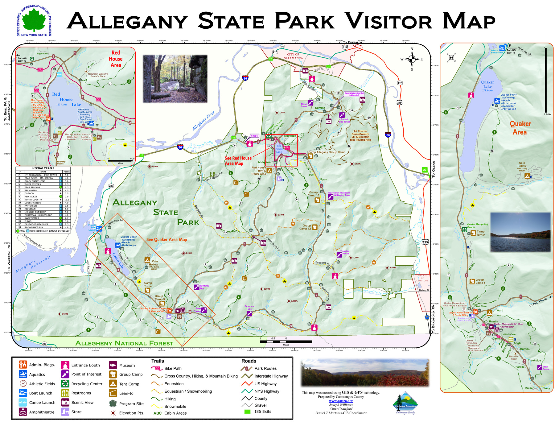 Our Frank Adventures: Allegany State Park, New York State