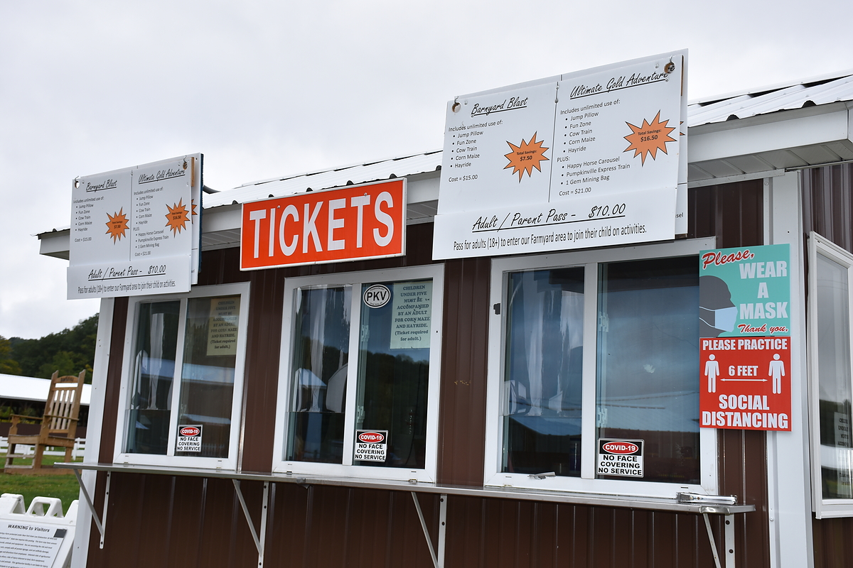 Pumpkinville Ticket Booth