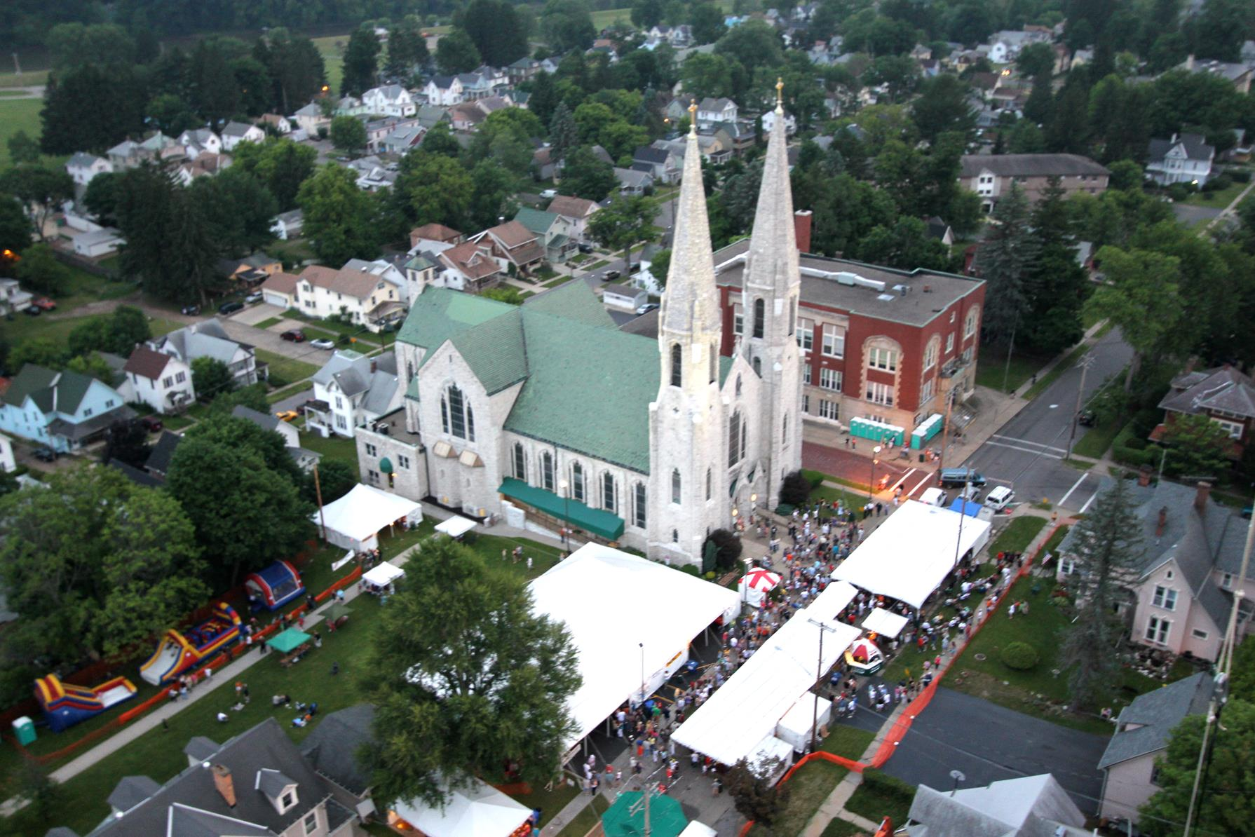 2015 Church Festival At St. Mary of the Angels | Enchanted ...