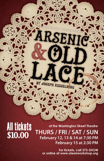 Olean Theatre Workshop Presents Arsenic  U0026 Old Lace