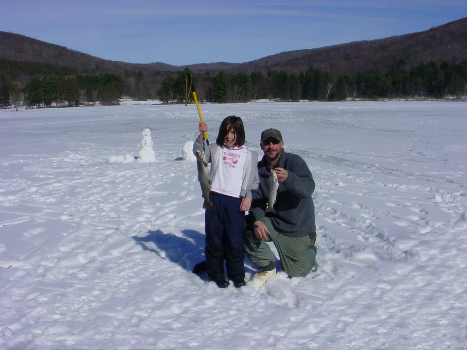 Photo of ice fishing at allegany state park enchanted for Ice fishing ny