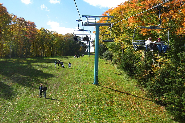 Chairlift Ride at Holiday Valley