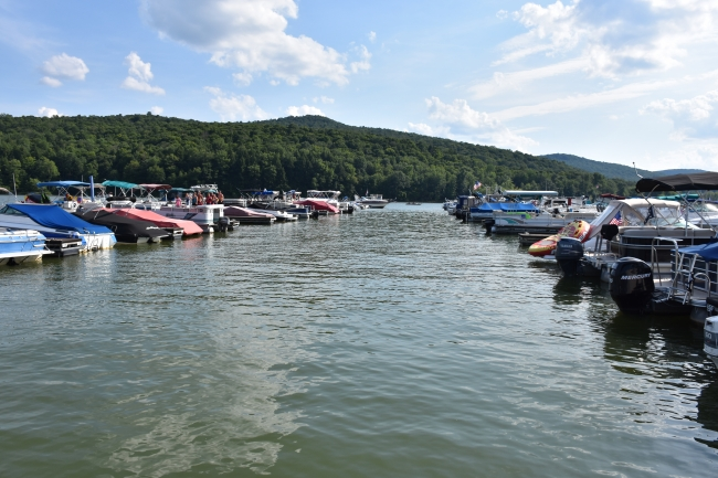 Boats at Onoville Marina