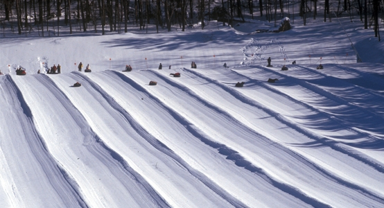 Snow Tubing at Holiday Valley Tubing Park