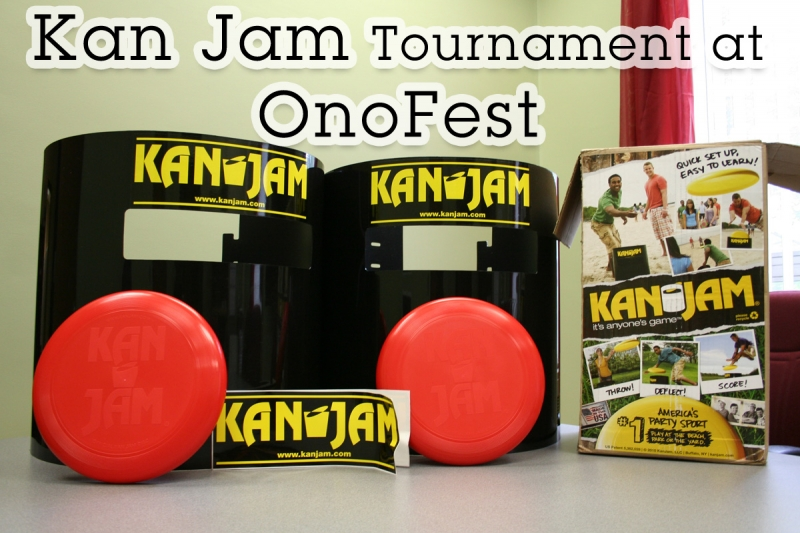 Picture of Kan Jam kit we received from the great folks at KanJam.com
