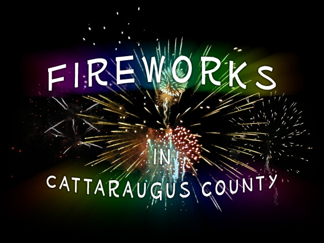 Picture of Fireworks in Cattaraugus County