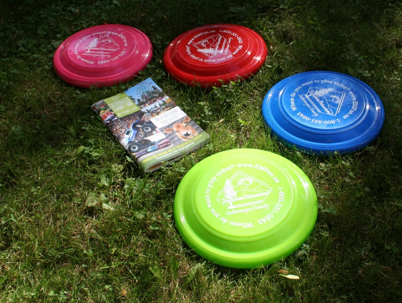 Picture of Cattaraugus County Fair Book and Frisbees!
