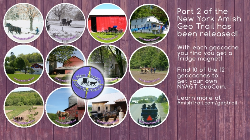 Picture of Part 2 Released of the NY Amish Geo Trail