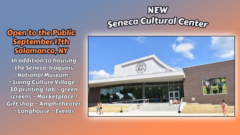 New Seneca Cultural Center in Salamanca NY
