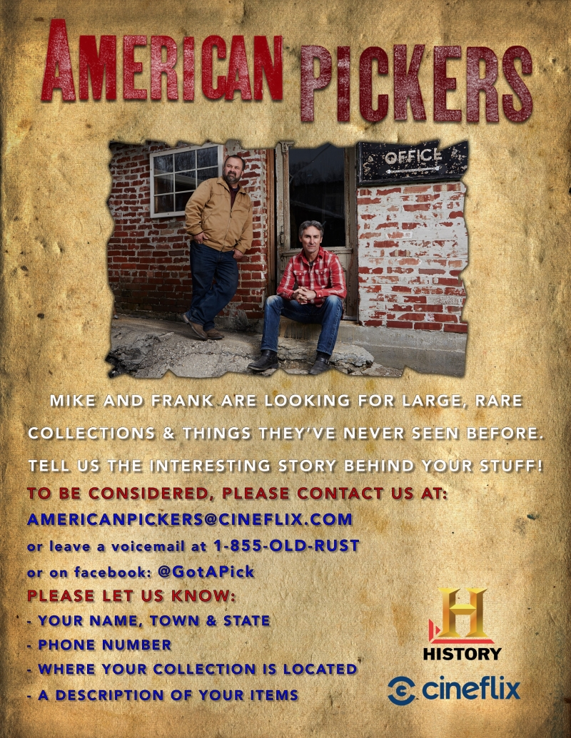 American Pickers comes to Cattaraugus County