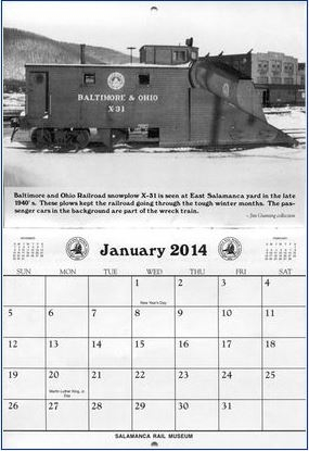 2014 Railroad Calendar