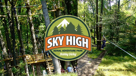 Picture of Sky High Adventure Park opening this Spring at Holiday Valley