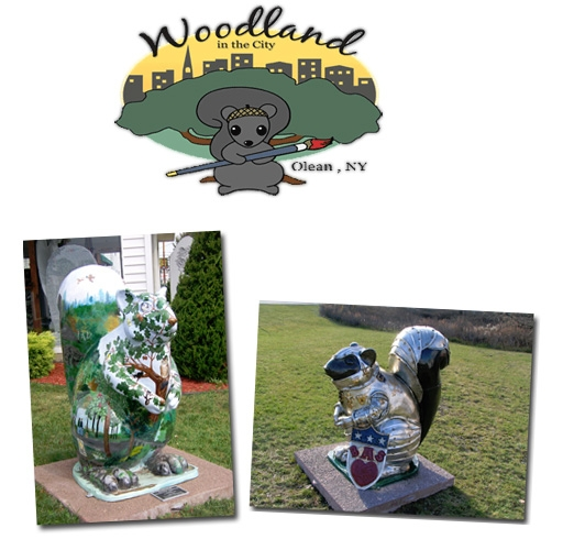 Image for Woodland in the City (Olean, New York)
