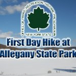 First Day Hike Red House Lake at Allegany State Park on January 1, 2012