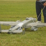 Military model aircraft at 2014 STARS Rally