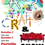 2019 Portville Arts, Craft & Antique Show Poster
