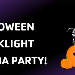 Halloween Blacklight Zumba Party