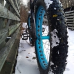 Fat Bike Ride at Allegany State Park
