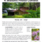 Photo Contest Pfeiffer Nature Center