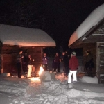 Snowshoeing with Adventure Bound onthefly