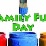 Family Art Day at the Arts Council