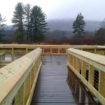 new wetland boardwalk