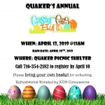 Allegany State Park Easter Egg Hunt