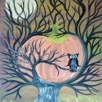 Halloween Paint Class at Handmade by Shelby