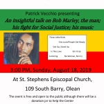 Patrick Vecchio presentation on Bob Marley