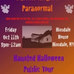 Buffalo Niagara Paranormal Ghost Hunt of Hinsdale House