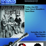 poster for the Chumps and State Street Ramblers