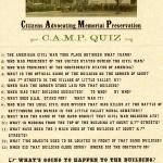 CAMP Memorial Quiz