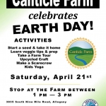 Celebrate Earth Day with Canticle Farm 2018