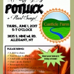 Potluck Dinner at Canticle Farm