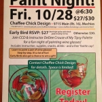 Wine Glass Paint Night at Chaffee Chick Design