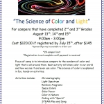 Dresser Rand Challenger Center' Color Camp 2019