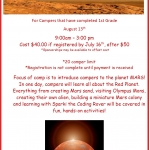 Mars Mania Camp at Challenger Learning Center