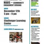 Challenger Learning Center's Journey To Mars