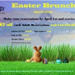 Easter Brunch at Good Times of Olean 2019