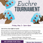2019 Euchre Tournament in Olean
