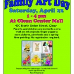 Family Art Day with Arts Council