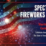 4th of July fireworks at the Seneca Allegany Casino