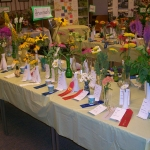 prize winners at a previous flower show