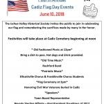 Flag Day Celebration Cadiz Cemetery in Franklinville