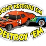 Freedom Daze Demo Derby at the Cattaraugus County Fairgrounds